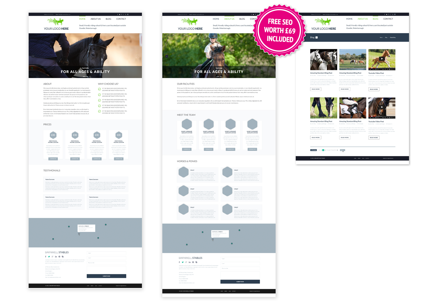 4 Page Website